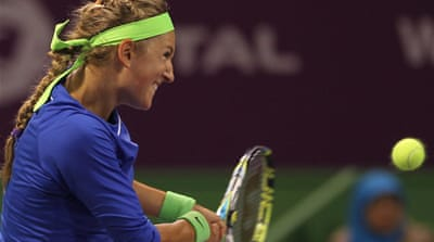 Azarenka demolishes opponent in Qatar
