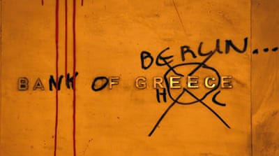 Many Greeks resent the troika's demands for economic austerity in Greece [GALLO/GETTY]