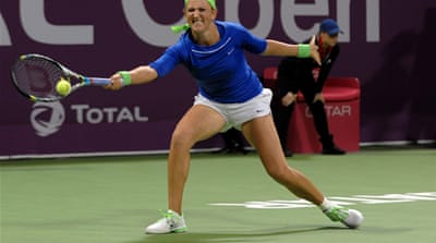 Azarenka sets up Stosur final