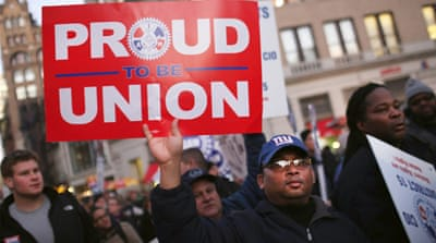 Attacking the unions