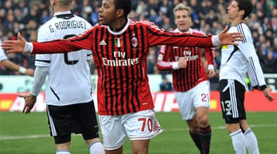 Rossoneri recapture Italian lead