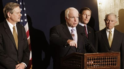 McCain says Egypt working to solve NGO crisis