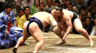 Sumo wrestles with debt