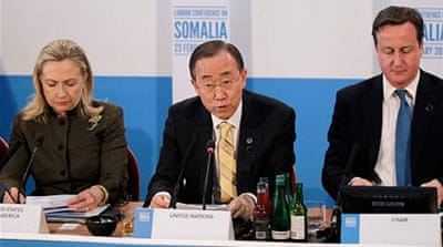 Conference calls for action in Somalia