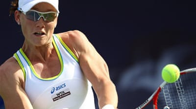 Jankovic knocks Stosur out in Dubai