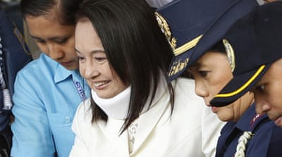 Arroyo pleads not guilty to poll fraud