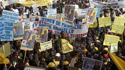 Tensions build in run-up to Senegal vote