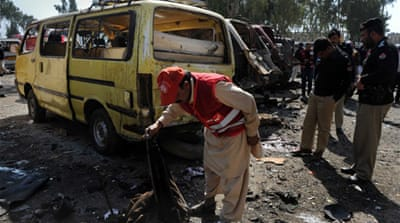 Deadly blast in northwest Pakistan