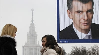 Russia's aspirational voters look to Prokhorov