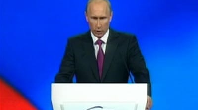Putin leans on 'less modernised' base