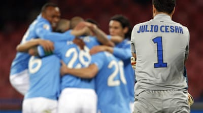 Napoli prolong Inter's misery