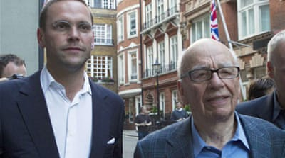 James Murdoch steps down from BSkyB