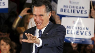 Romney scores double US primary win