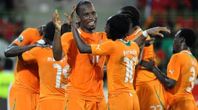 Ivory Coast coast to semi-finals