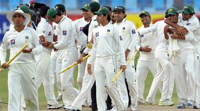 Pakistan claim series whitewash