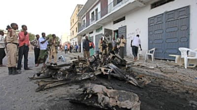 Al-Shabab claims Somalia car bombing
