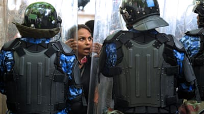 Chaotic scenes at Maldives parliament