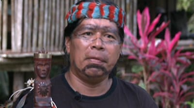 Ecuador tribe under threat from oil drilling