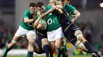 Ireland heap misery on Scots