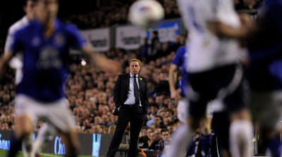 Spurs' slump continues at Everton