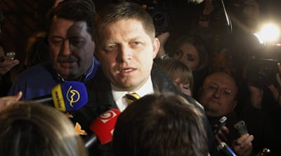 Opposition projected to win Slovak elections