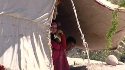Syrian bedouin find shelter in Jordan