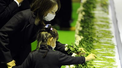 In Pictures: Japan's earthquake anniversary