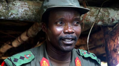 Joseph Kony has been indicted for war crimes along with several of his senior commanders by the ICC [AP]