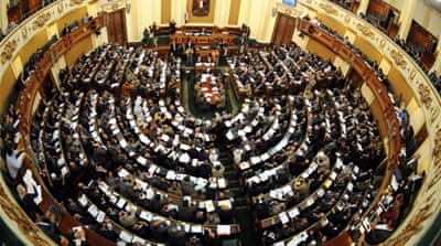 Liberals walk out of Egypt assembly selection