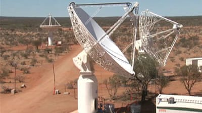 Australia launches telescope bid