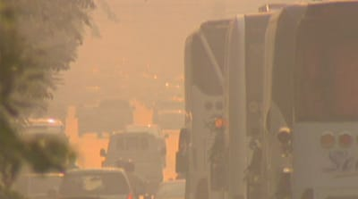 Smog reaches unsafe levels in Thailand