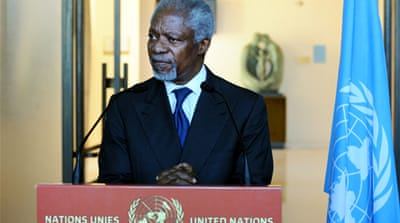 Annan renews call for UN unity on Syria