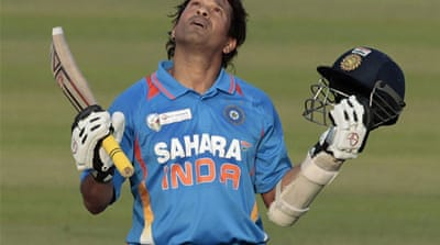 Indian Prime Minister Manmohan Singh said Tendulkar was an inspiration for the country [EPA]