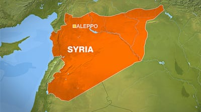 Fighters advance on the Syrian air intelligence base in Aleppo [Al Jazeera]
