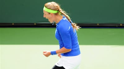 Azarenka marches to Indian Wells triumph