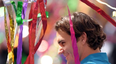 Federer wins fourth Indian Wells title
