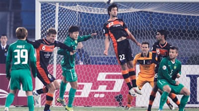 Late equaliser in Asian Champions League