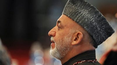 Karzai's team clash over relations with US