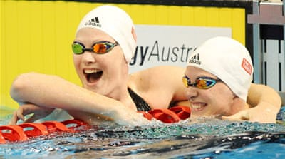Australia's swimming sister act