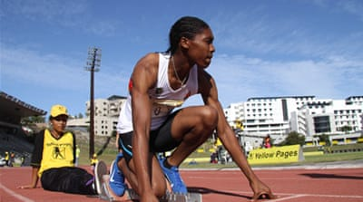 South Africa's Semenya returns to action