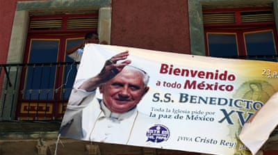 Mexico prepares to welcome Pope
