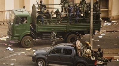 International condemnation for Mali coup