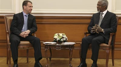 Russia: Annan mission 'last chance' for Syria