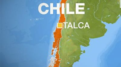 Powerful earthquake hits central Chile