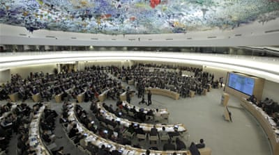 Israel cuts ties with UN human rights body