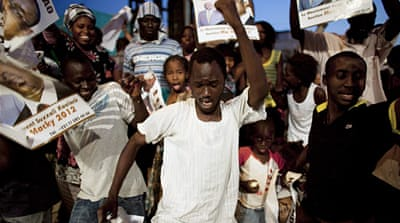 Senegal opposition celebrates election win