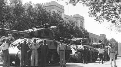 In 1953, a coup backed by the US and UK overthrew the democratically elected government of Iran [AP]