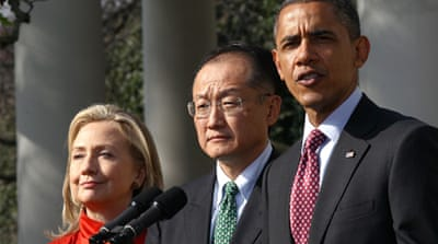 Obama has shown real leadership with his nomination of Jim Kim for World Bank leader [GALLO/GETTY]