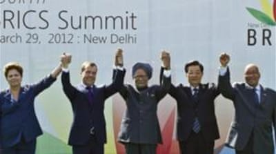 BRICS nations flex muscles at India summit