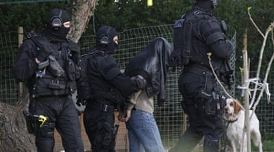 French police arrest 'radical Muslims'
